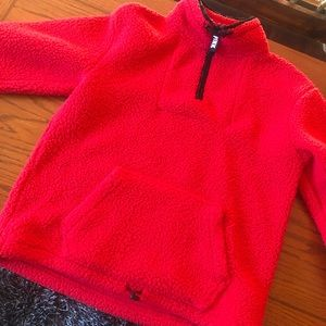 Size Small Red PINK Sherpa